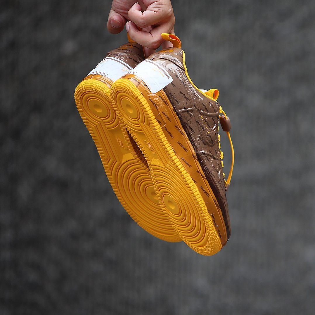 Air Force 1,Nike  巧克力既视感!这双全新 Air Force 1 你打几分?