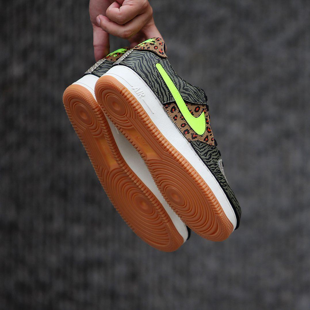 Air Force 1,Nike  三重动物花纹!这双全新 Air Force 1 真叫人眼花缭乱!