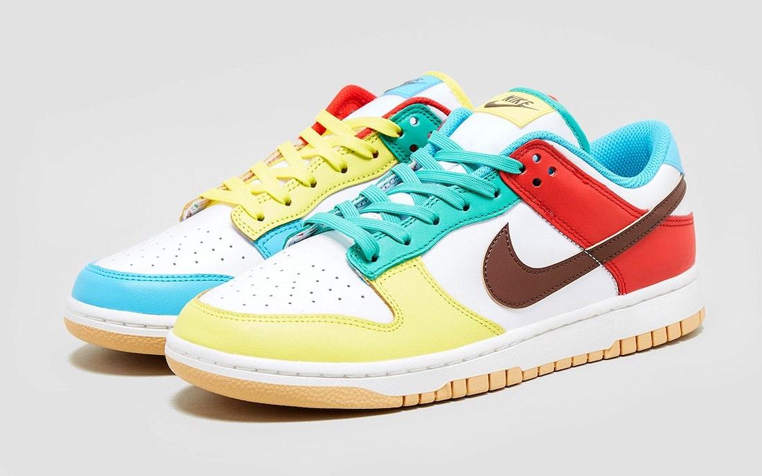 Nike,Dunk,DH0952-001,DH0952-10  期待已久的好鞋来了!炫彩 Dunk 实物图曝光!