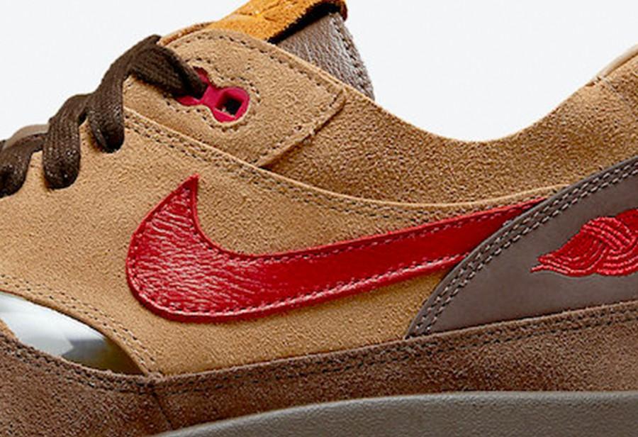 死亡之吻,CLOT,Air Max 1,发售,DD1870-  SNKRS 也会发!死亡之吻「CHA」发售倒计时!网友:真像火星鞋!