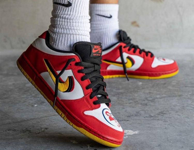 Nike SB,Dunk Low,Vietnam,30924  「25 周年」Dunk 曝光!特殊鞋舌 + 3D Swoosh,上脚不一般!