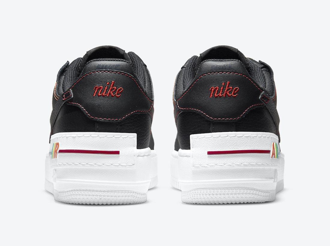 Nike,AF1,Air Force 1,发售,DJ5998   五彩斑斓的黑!全新 Air Force 1 即将登场!