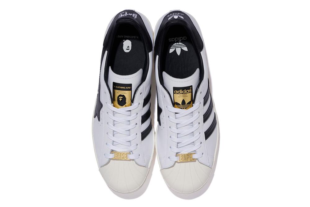 BAPE,adidas,Superstar,发售  高于原价不少!BAPE x adidas 贝壳头再度发售!登记已开启!