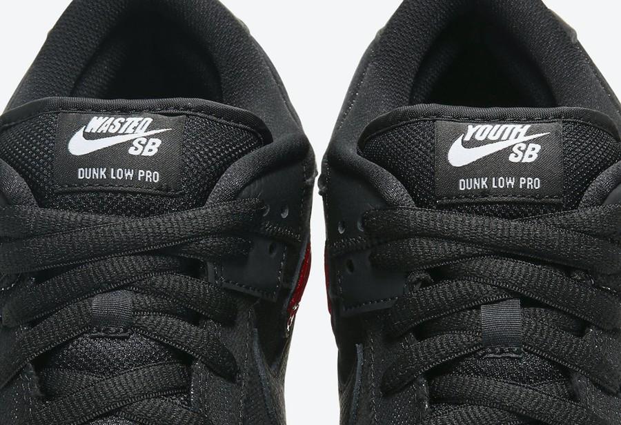 Nike,Wasted Youth,Dunk SB Low,  新鞋就带补丁?全新「朋克风」Nike Dunk SB 官图曝光!