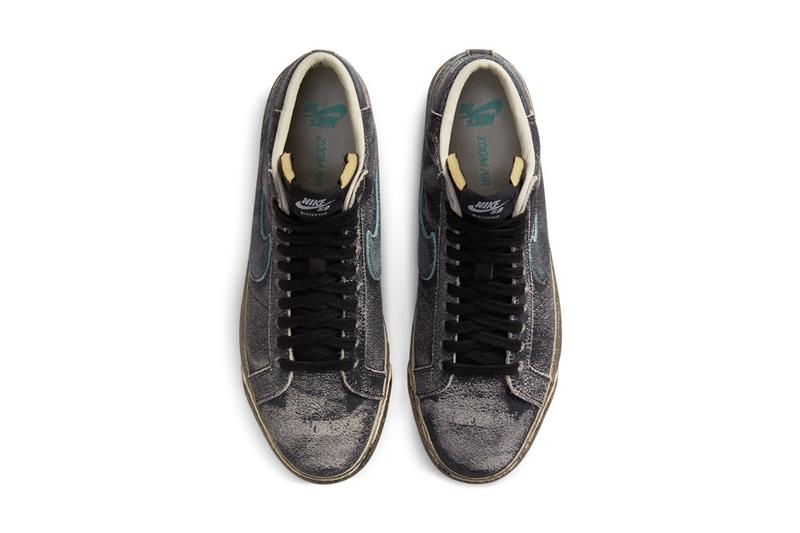 Nike,SB Blazer Mid,Faded Black  一双清新、一双废土!两款全新配色 Blazer 即将登场!