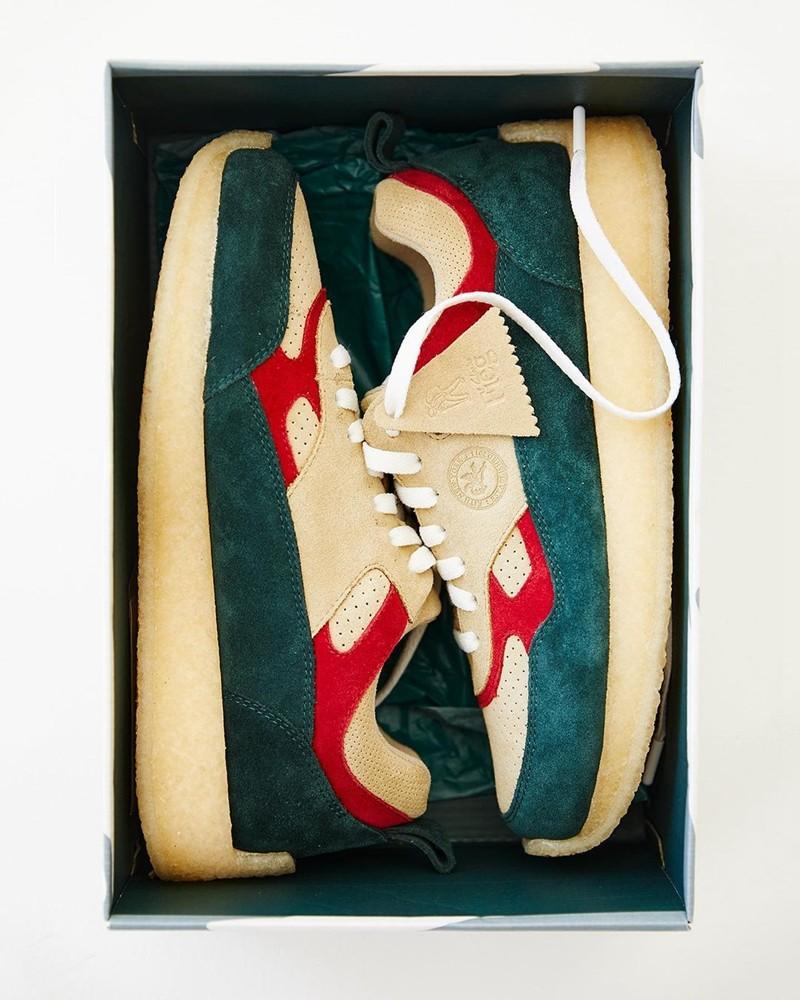 街头,潮人,新宠,KITH,主,理人,携手,CLARKS,推  能买新鞋了!KITH 主理人亲晒!造型前所未见!