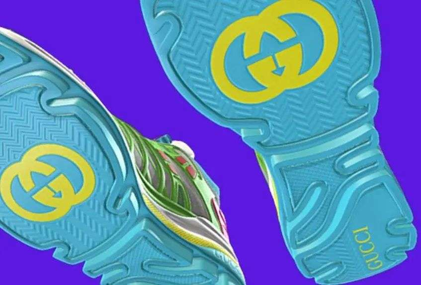 发布,虚拟,Gucci  78 元就能买 Gucci 球鞋!年轻人的首件奢侈品!