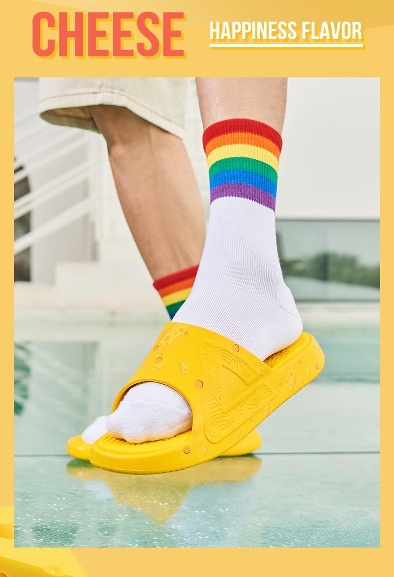 拖鞋,PEAK  教你拥有超高回头率!奶酪态极拖鞋必冲!