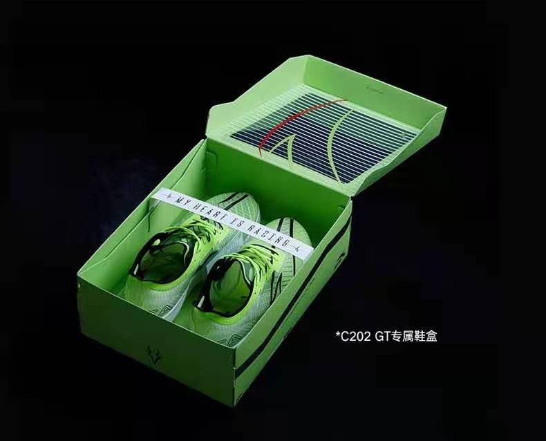 安踏,C202 GT,发售  后天发售!全掌碳板「顶配跑鞋」只要 ¥999!恐怕不好抢!