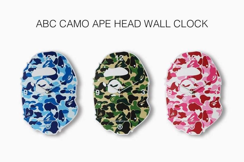 BAPE®,FABRICK,KARIMOKU  经典迷彩样式妆点!BAPE 推出全新联名家具系列!