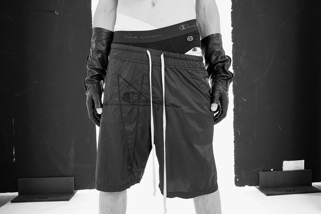 Rick Owens,Champion,发售  暗黑街头够惊艳!RO x Champion 现在还能买!