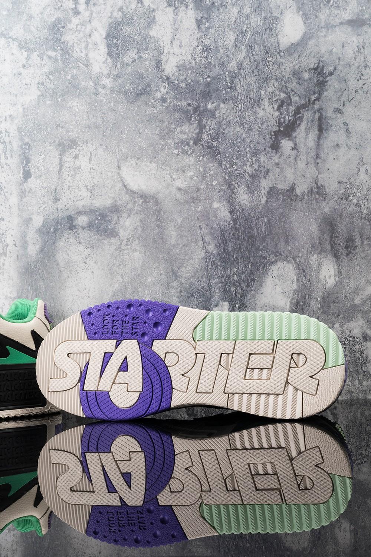 STARTER,THE MASK,VOL  近期唯一「重磅联名鞋」!小姐姐抢先上脚来了!天猫悄悄上架!