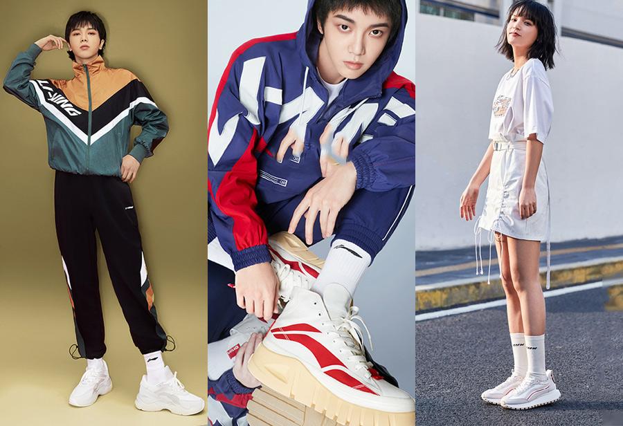 fila,anta,lining,老爹鞋,国产球鞋,斐乐,安  最低只要 ¥259!复古增高显腿长!明星都穿这种鞋!
