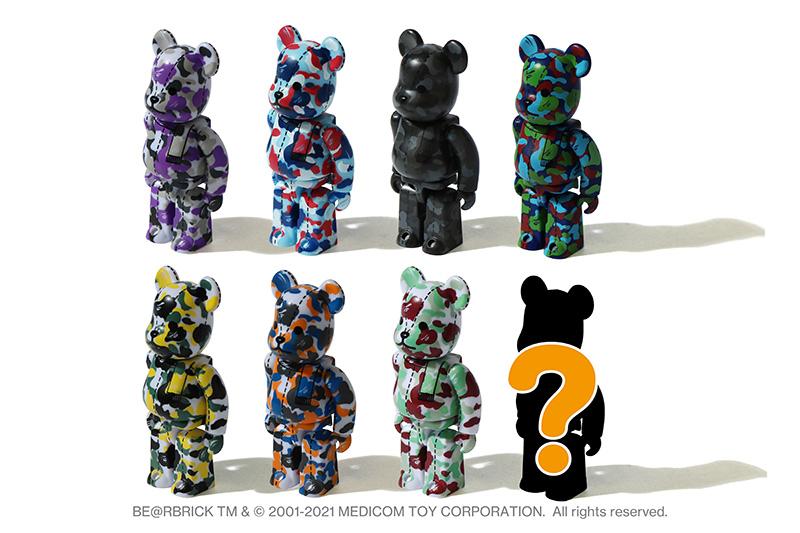 BE@RBRICK,BAPE®,28 周年  还有稀有盲盒!BAPE® 放大招!积木熊联名、樱花限定,今早发售!