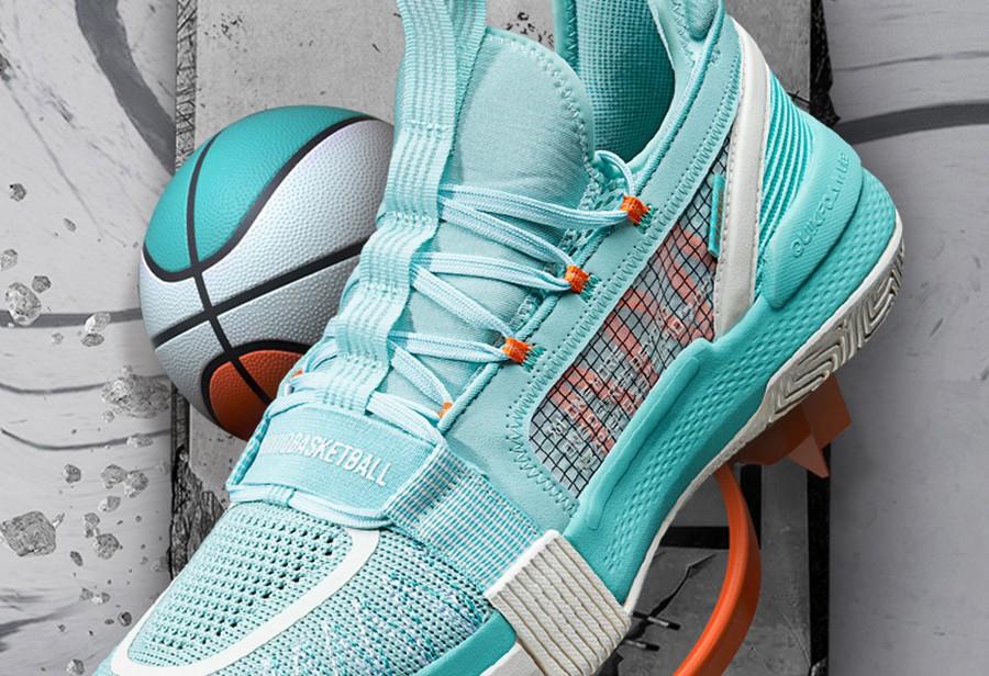 361°,燃战  「宝藏球鞋」+1!配色清爽、性能跨级!夏天就要穿这个!