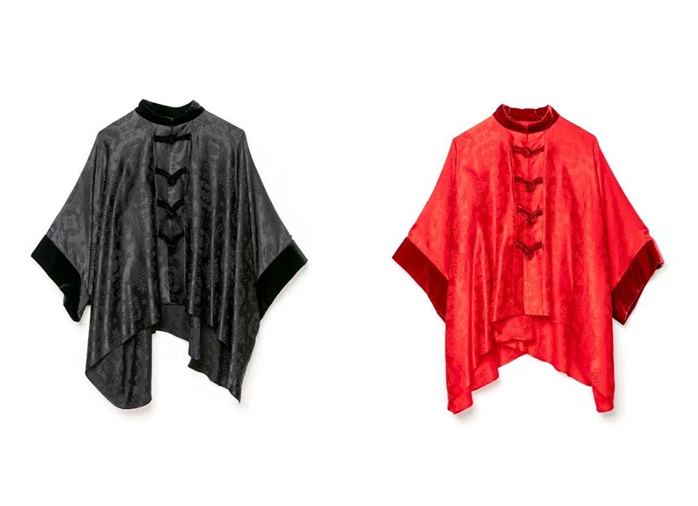 CLOT,sacai,陈冠希,阿部千登势  又是黑红又是丝绸!CLOT x sacai 偷偷上架发售!