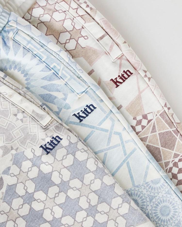KITH,Moroccan  心动警告!「腰果花」KITH 系列单品现已发售!