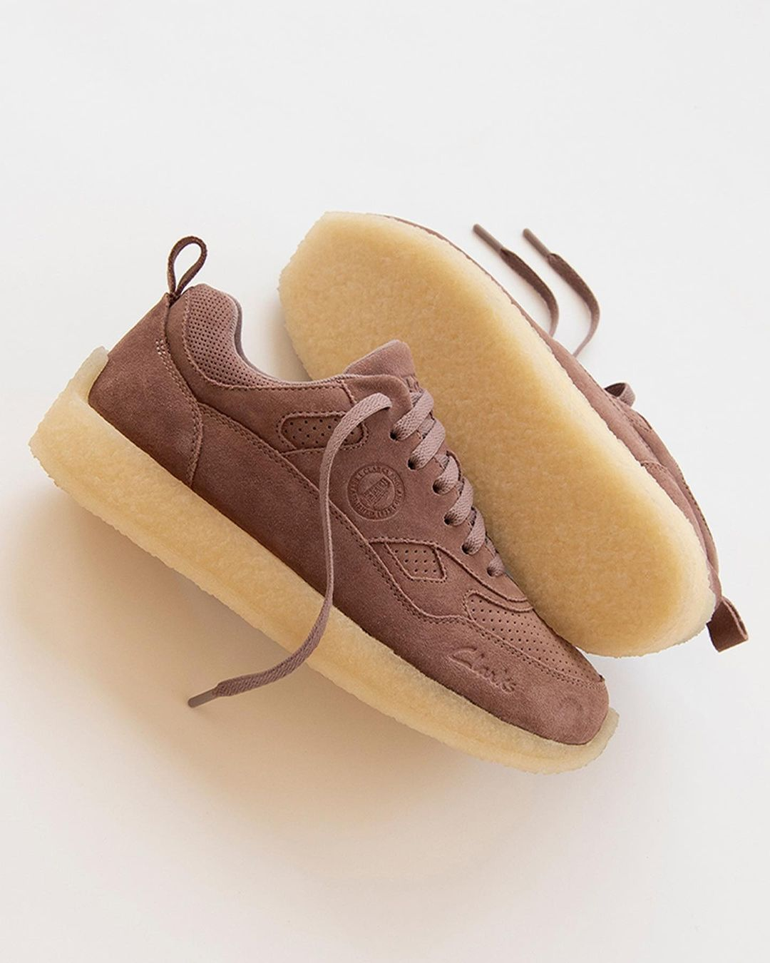 Kith,Ronnie Fieg,CLARKS ORIGIN  麂皮鞋身太有质感了吧!KITH 全新联名鞋款即将发售!