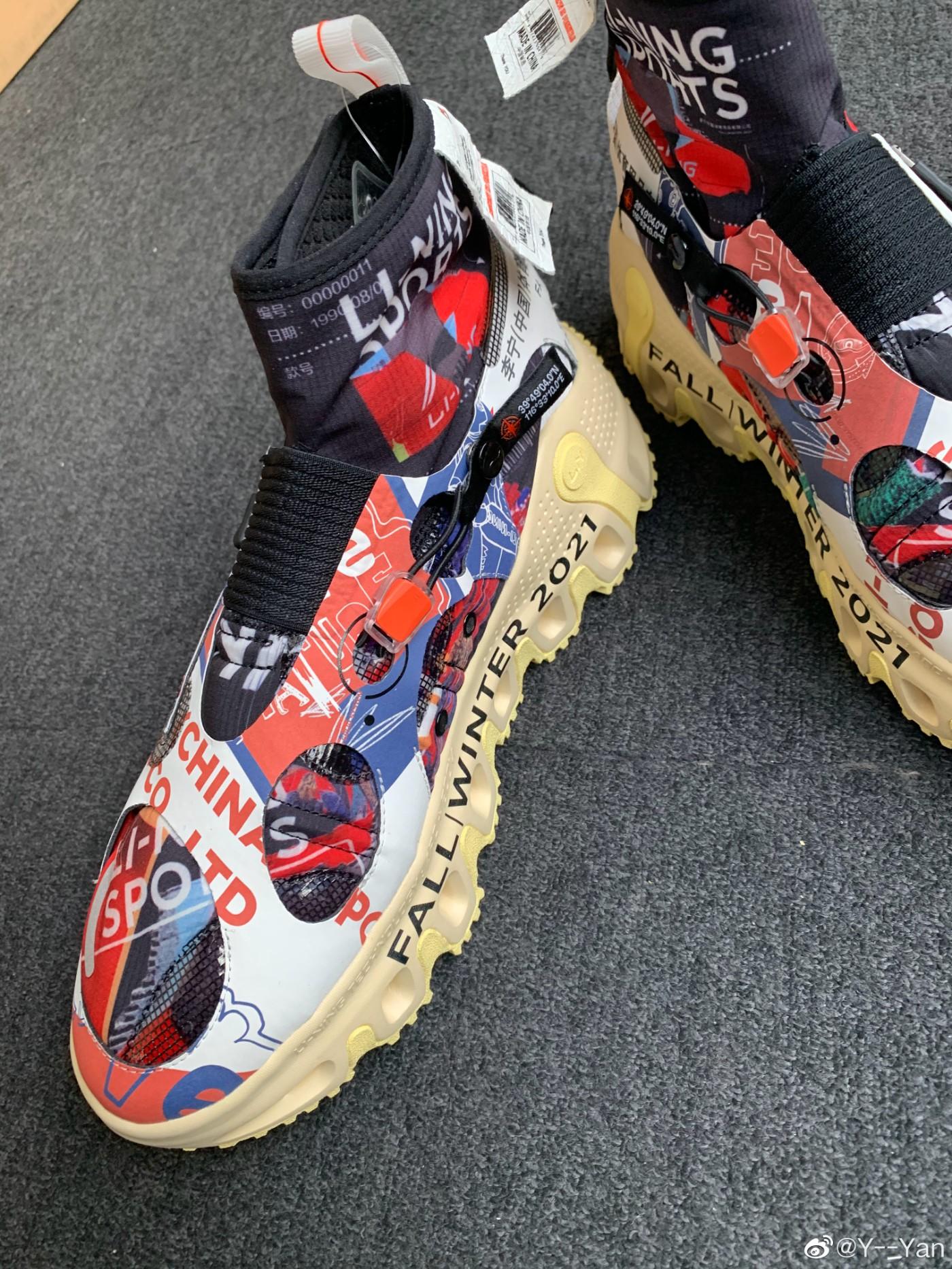 李宁,伍行 BOOT  Gore-tex 金字招牌!穿上增高 5cm!这样的鞋真是头一次见!