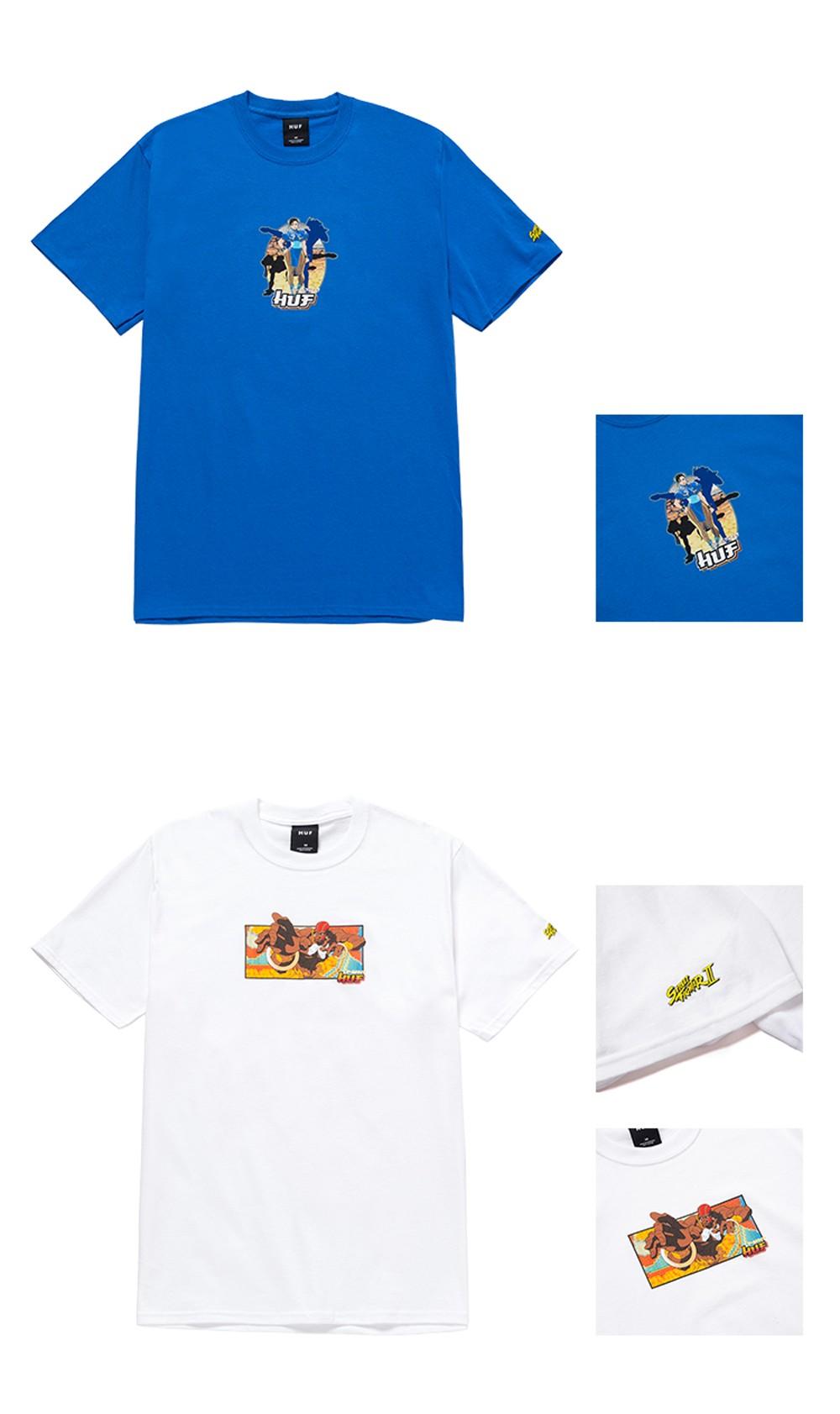 发售,街头霸王,HUF  爷青回!街头霸王 x HUF 刚刚上架!花衬衫太帅了!