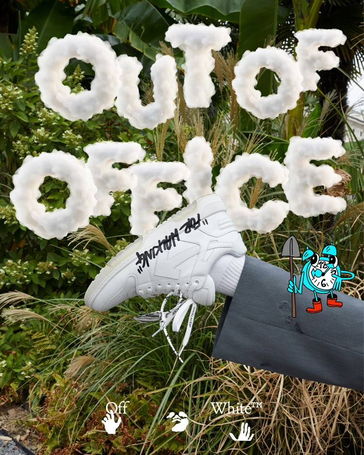 OFF-WHITE,OUT OF OFFICE,FOR WA  神仙颜值!这双 OFF-WHITE 新鞋怎么穿都帅!