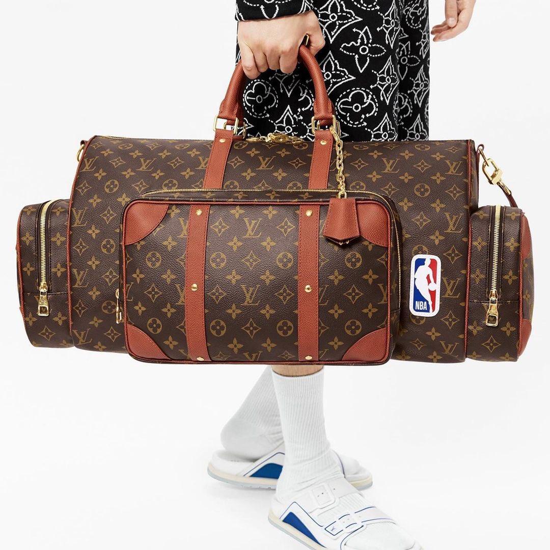 NBA,LV  LV x NBA 第二波联名曝光!天价「满印篮球」要来了!