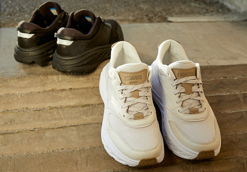 HOKA ONEONE,Bondi L Suede,邦迪,O  上脚增高太夸张!本月最佳质感新鞋来了!竟然还有联名款!