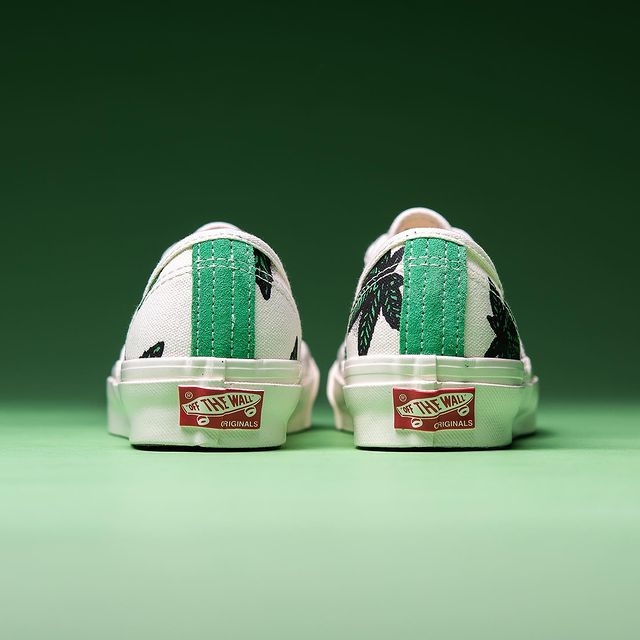 Vans,小清新,发售   麻叶图案加持!Vans 小清新鞋款登场!