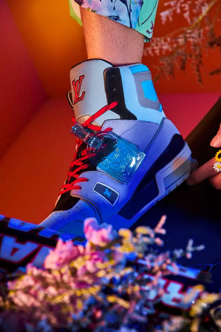 LV,Trainer,Louis Vuitton  LV 最难买的球鞋!七款全新配色曝光!还有湖人主题?!