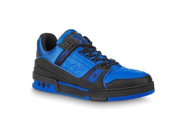 Louis Vuitton,LV,Trainer  Virgil 亲自带货 LV 新鞋!这配色太 Vibe 了!