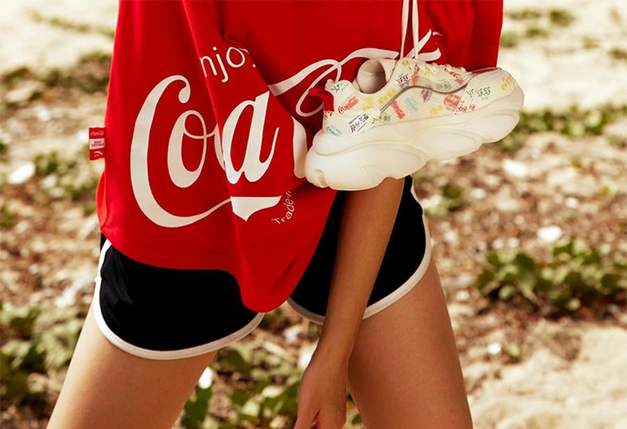 安踏,可口可乐  穿上秒变大长腿!安踏 x 可口可乐联名抓紧买起来!