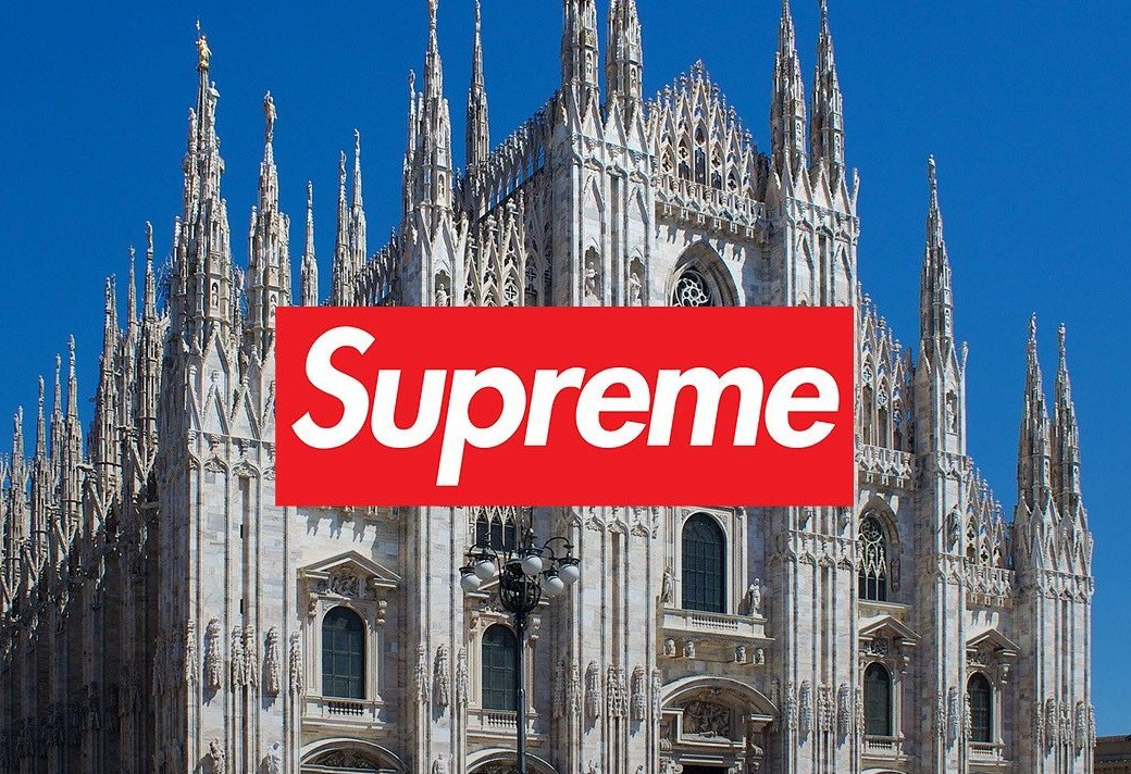 Supreme  开进山寨大本营!Supreme 将在意大利开设首间店铺