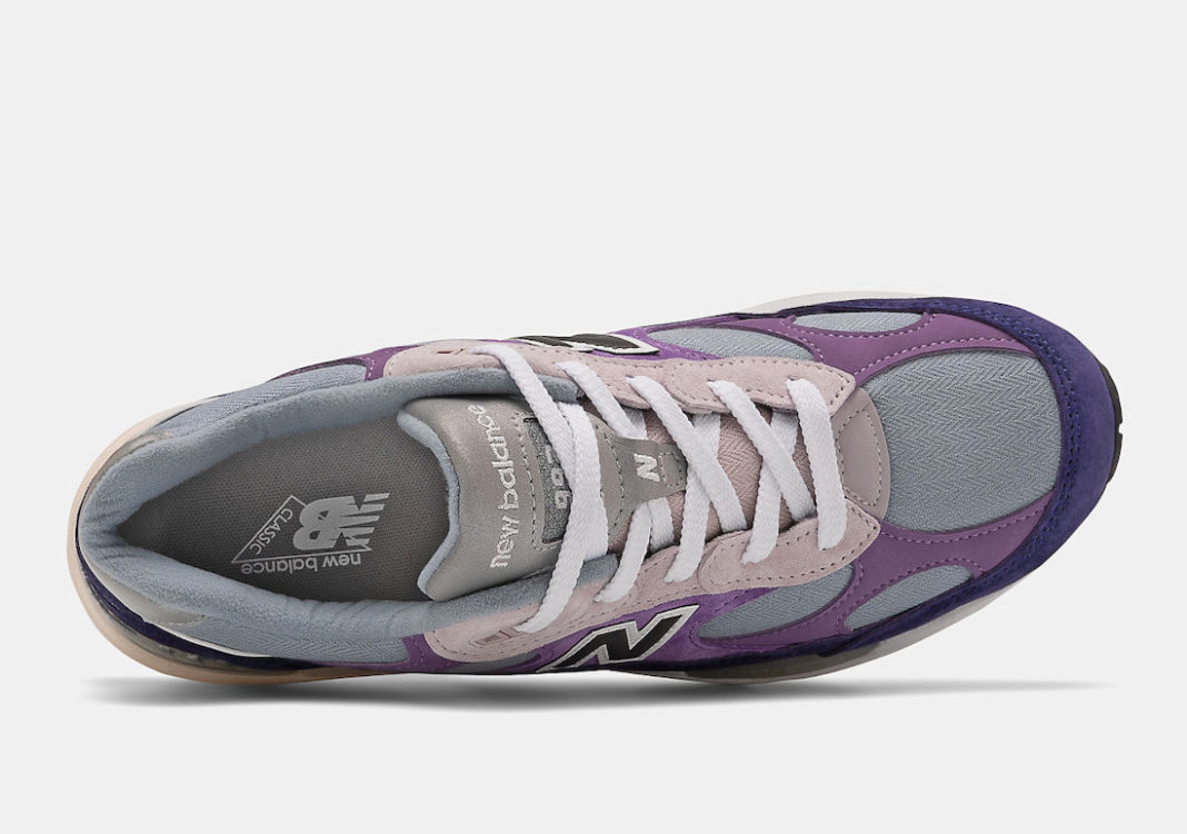 New Balance,992 Violet Purple, 罗兰紫新配色 复古风拉满!New Balance 992 新配色刚刚发售!