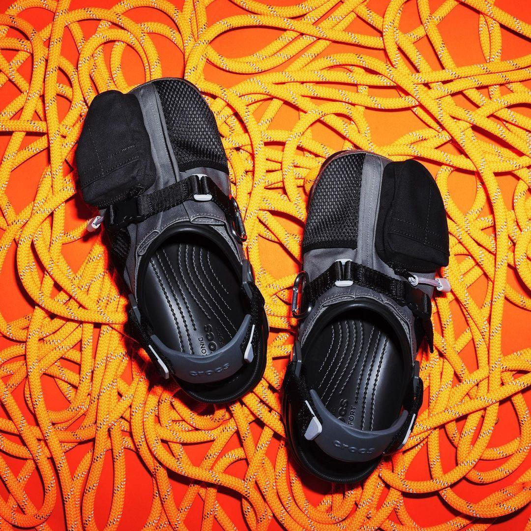 鞋,上有,口袋,Crocs,Beams,联名,现已,发售,C  「鞋子带兜」又来了!Crocs x BEAMS 联名刚刚发售!