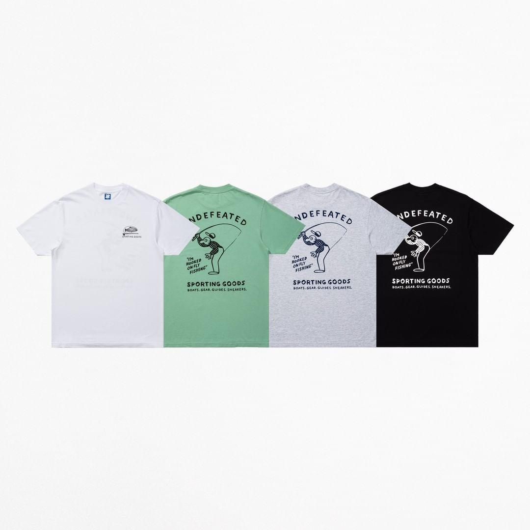 UNDEFEATED,发售  海王必备?!钓鱼主题 UNDFTD 新品现已发售!