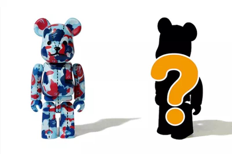 BAPE,BE@RBRICK  市价翻倍!BAPE x 积木熊「联名盲盒」还有捡漏机会!