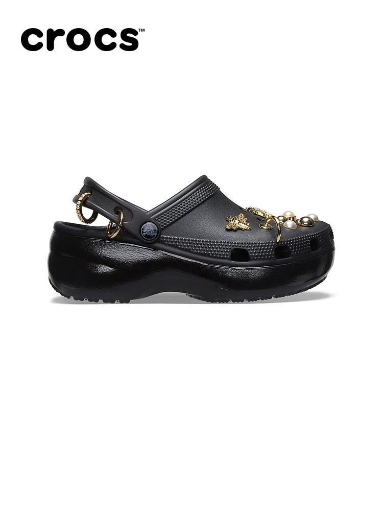 杨幂,Crocs,洞洞鞋  又奢又潮!大幂幂全新「定制鞋」刚刚上架!