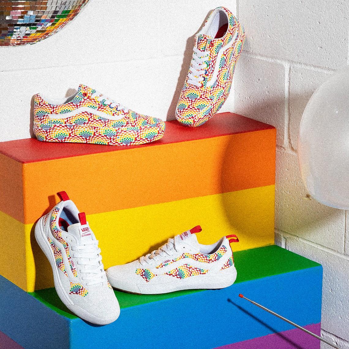Vans,LGBTQ  亮眼彩虹配色!Vans 全新「彩虹」系列实物曝光!