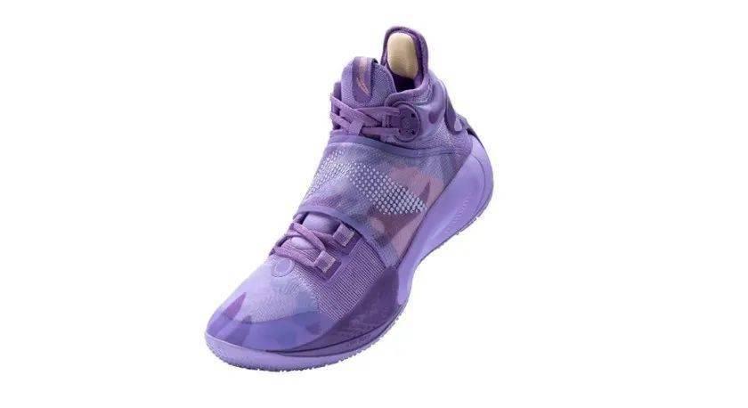 Lining,音速9,李宁  夏天还得穿「骚紫」配色!全新李宁音速 9 刚刚发售!