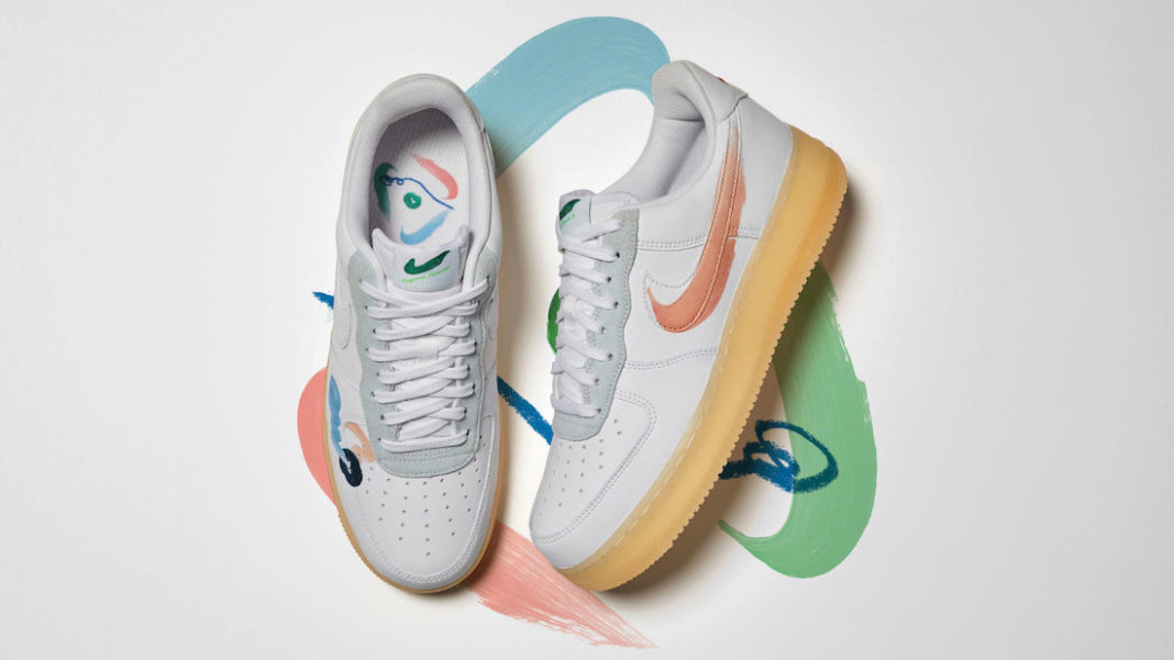 Nike,Mayumi Yamase,Air Force 1  涂鸦风格!全新 Mayumi Yamase x Nike 即将发售!