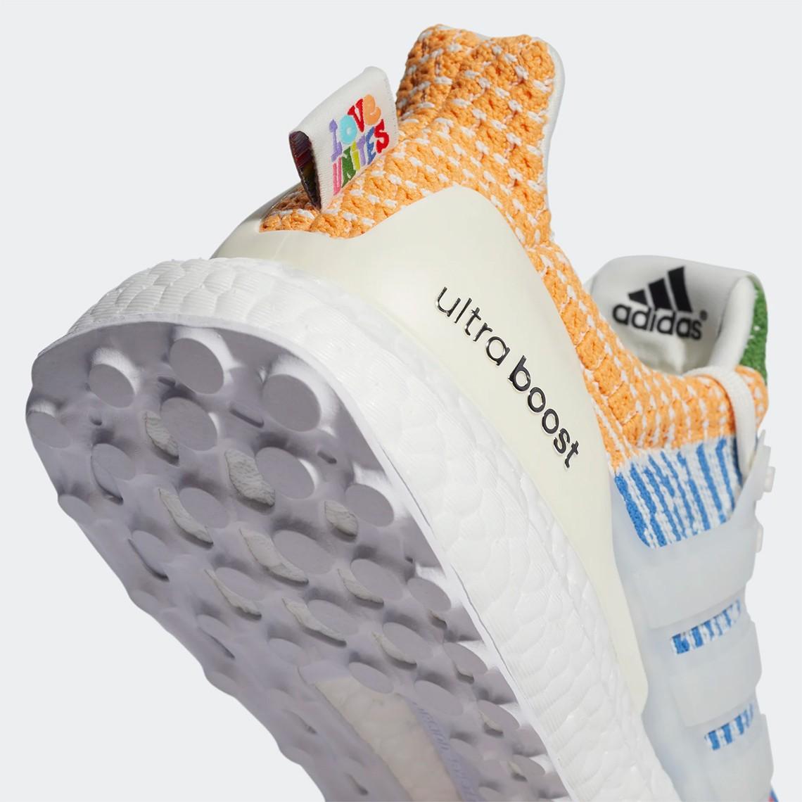 adidas UltraBOOST  越看越骚气!全新 adidas UB 5.0「彩虹」配色官图曝光!