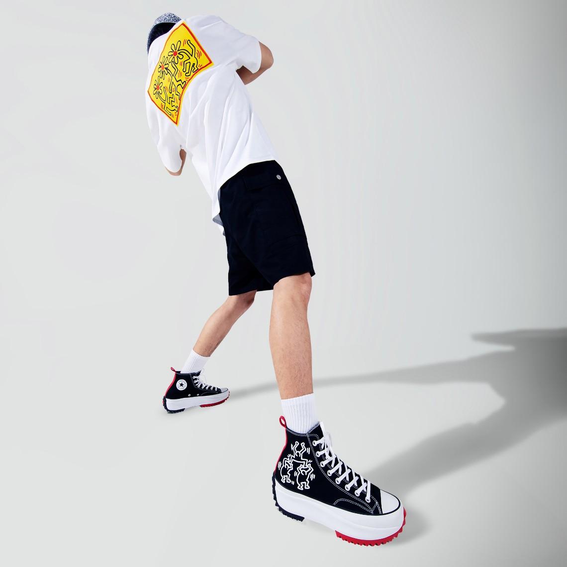 Converse,Keith Haring  艺术家联名又来了!全新 Keith Haring x Converse 联名曝光!