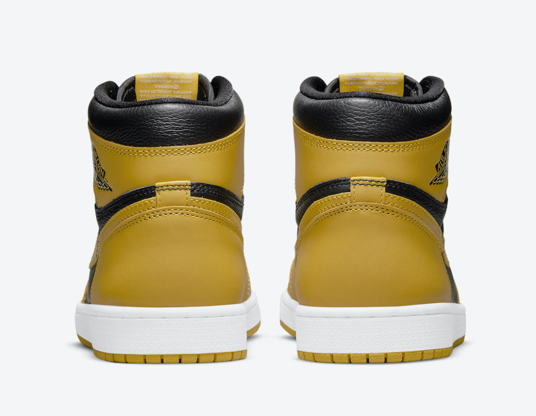 """Air Jordan 1 High,Pollen,  发售日期确定!全新 Air Jordan 1 """"Pollen"""" 你打几分?"""