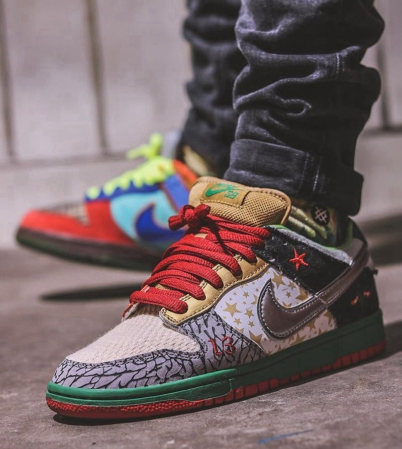Nike,SB Dunk Low,What The P-Ro  细节多到数不清!全新「What The」Dunk SB 看着就贵!