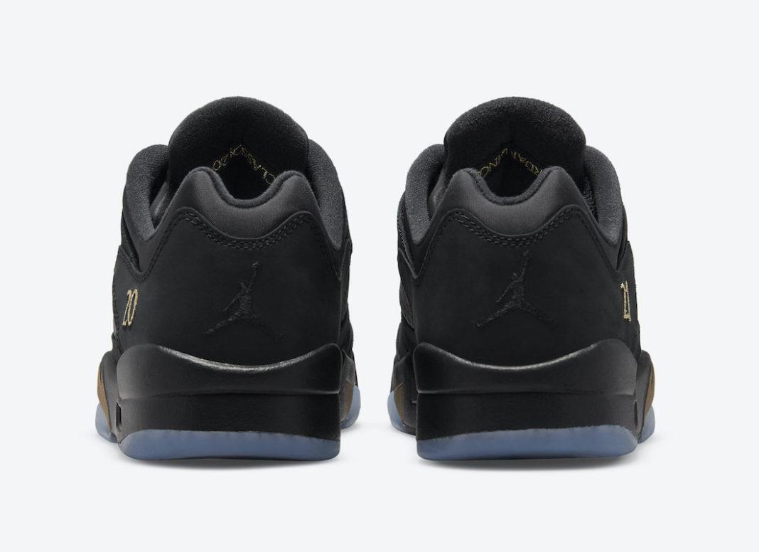 Air Jordan 5,NIKE  特殊吊牌加持!黑金 Air Jordan 5 Low 现已上架!