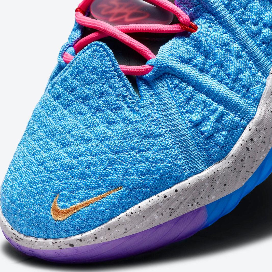 "Nike,LeBron 18,  彩色外底!全新 ""What The"" 配色 LeBron 18 官网上架!"