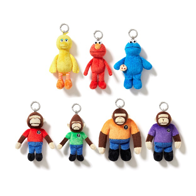 AAPE,《芝麻街》  AAPE ×《芝麻街》联名刚刚登场!还有超可爱配套玩偶!