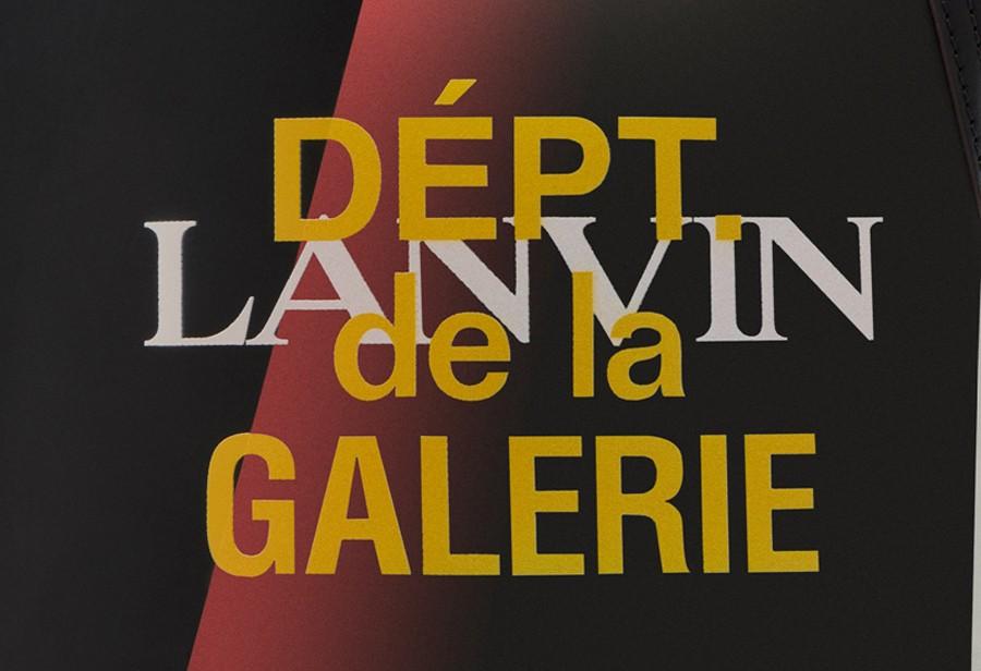 LANVIN,Gallery Department  奢华大牌「复古板鞋」全新联名曝光!实物简直太帅了!