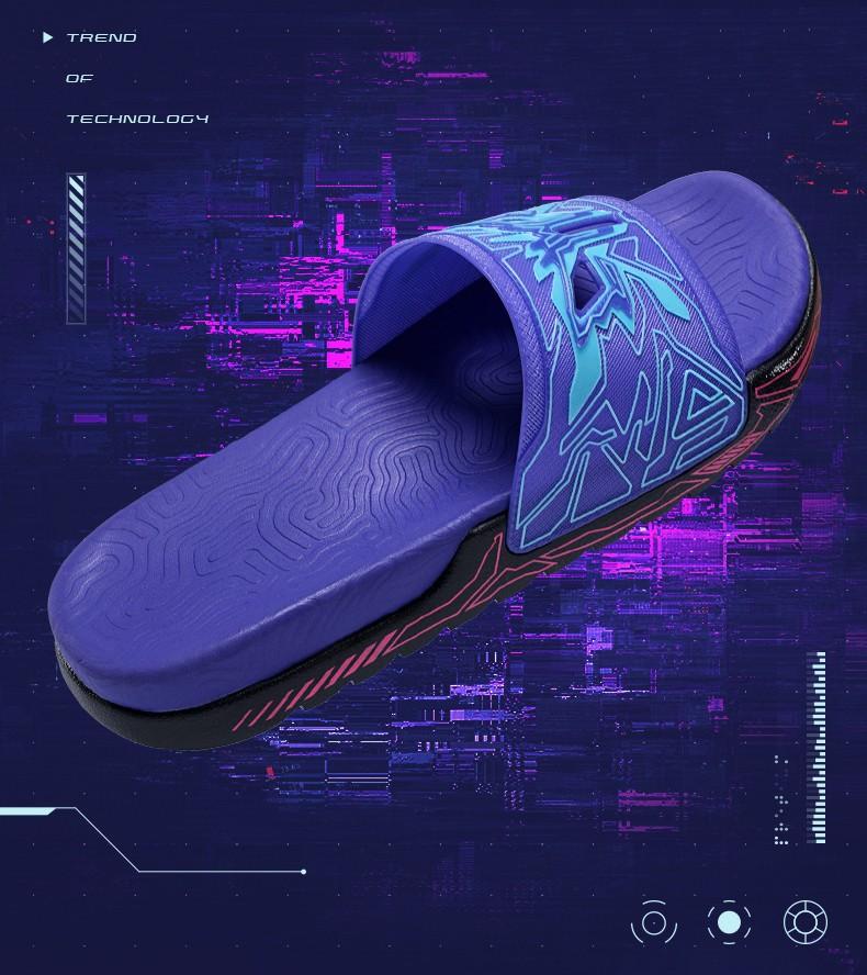 匹克,态极,发售  赛博朋克 + 态极 + 3D 打印!这双拖鞋可太秀了!