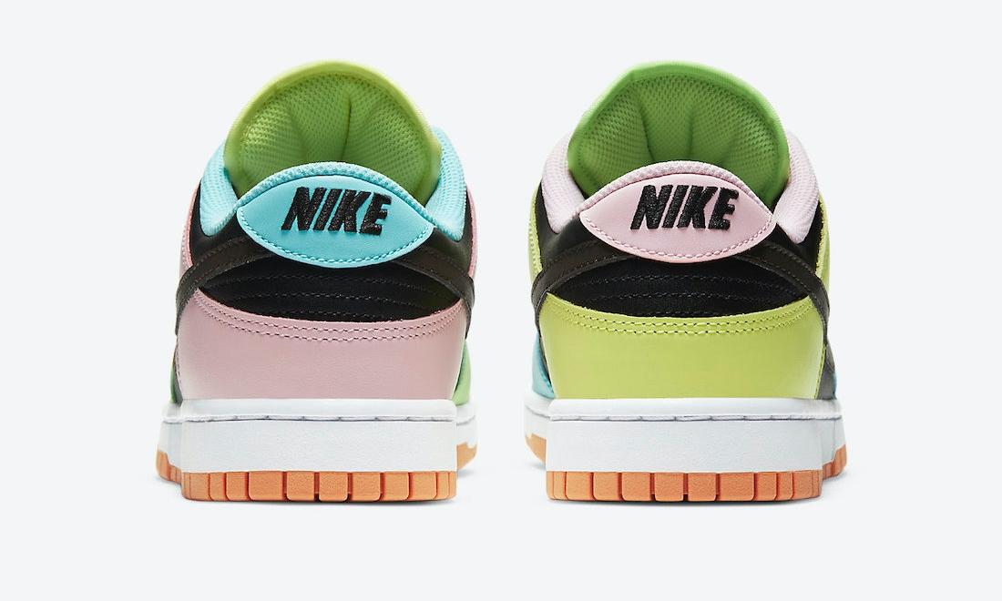 "nike,dunk,CZ2496-001,  糖果鸳鸯配色!全新 Nike Dunk ""Free. 99"" 明日发售!"